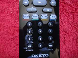 NEW ORIGINAL ONKYO RC 807M RECEIVER REMOTE CONTROL