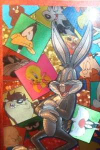 LOONEY TUNES OPITICAL ILLUSION ART BUGS BUNNY FRAMED