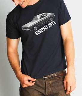 FORD CAPRI 1971 Retro T shirt & hoodies most sizes