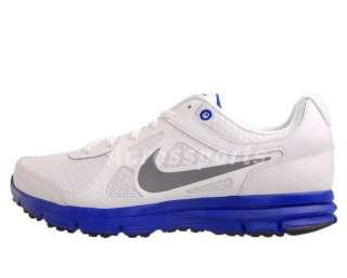 Nike Lunar Forever White Grey Blue New 2012 Mens Light Running Shoes