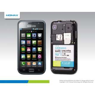 Momax X Level Battery Samsung Galaxy S i9000 1700mAh