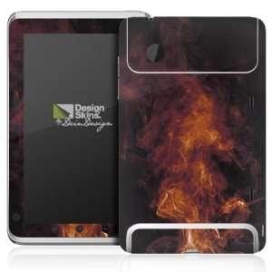 Design Skins for HTC Flyer   Flames Design Folie