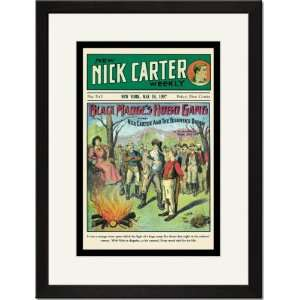 Print 17x23, Nick Carter Black Madges Hobo Gang Home & Kitchen