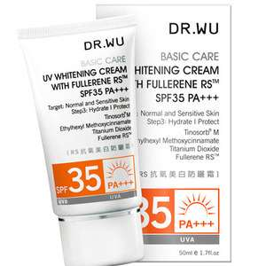 DR WU UV Whitening Cream Fullerene RS SPF35 PA 50ml