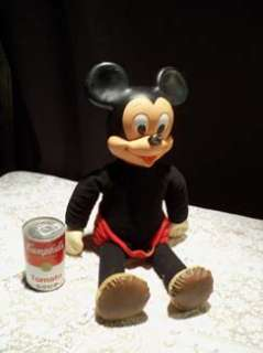 Vintage Marching Mickey Mouse Doll Disney HASBRO
