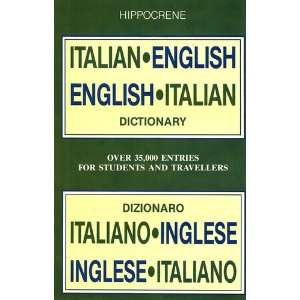 Hippocrene Italian English English Italian Dictionary Books