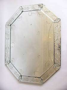Gorgeous Octagonal Venetian Style (French) Mirror