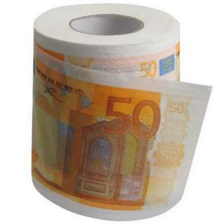 Banknote Tissue Toilet Paper Roll Loo Gimmick Novelty Gift Gag