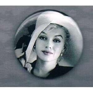 Marilyn Monroe Wearing Hat Pin (1.5 x 1.5) Everything