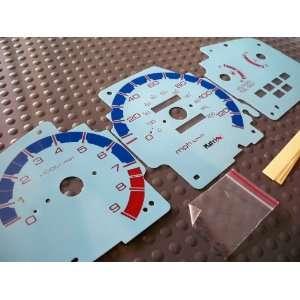 92 93 94 95 Honda Civic LX EX SI Manual Transmission MT Gauges Cluster