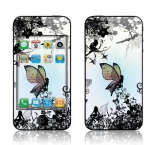 Apple ATT Verizon iPhone 4 & 4S Skin Cover Decal Wrap Kit