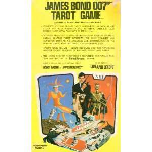 James Bond 007 Tarot Game Authentic Tarot Fortune Telling Game
