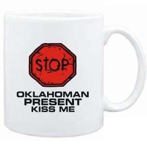 Mug White  STOP  Oklahoman START KISSING  Usa States