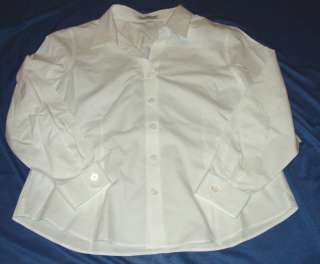 NEW COLDWATER CREEK ESSENTIAL NO IRON SHIRT SIZE 1X WHT