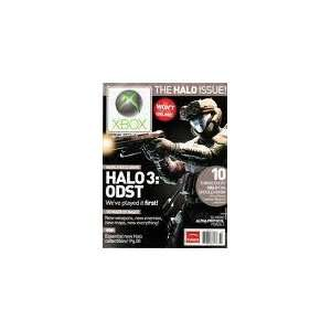 Xbox Official Magazine October 2009 Halo 3 ODST Books