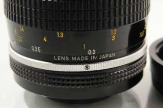 excellent Nikon Micro Nikkor 55mm f/3.5 non Ai MACRO LENS super clean
