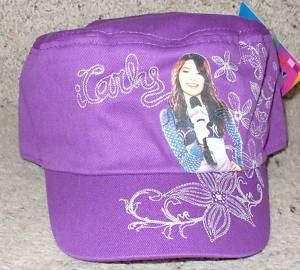 NWT Nickelodeon iCarly Baseball Cap Hat 7 16 Purple