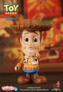 "Hot Toys 6"" Cosbaby Disney Toy Story   Woody"