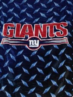 HUGE NFL NEW YORK GIANTS 60 x 80 SOFT PLUSH BLANKET