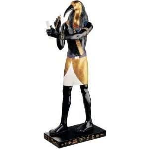 Thoth God Of Knowledge Sculpture Statue Figurine