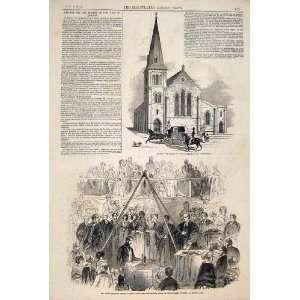 : Church Seamen Dock Street London Prince Albert 1846: Home & Kitchen