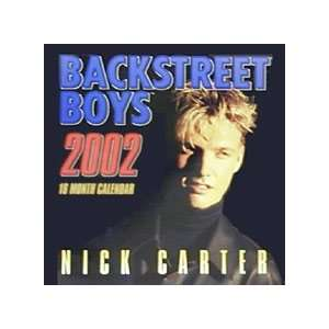 Nick Carter Backstreet Boys Calendar 2002   Unopened Brand New