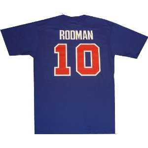 Detroit Pistons Dennis Rodman Throwback Adidas T Shirt