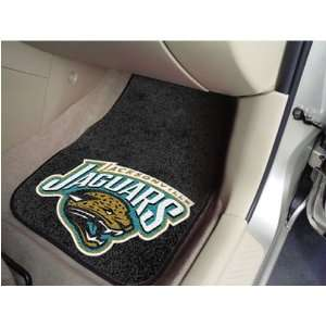 Jacksonville Jaguars NFL Car Floor Mats (Front) Automotive