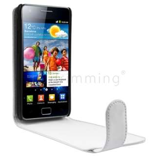 Flip Leather Pouch Case Cover For Samsung Galaxy S 2 II i9100