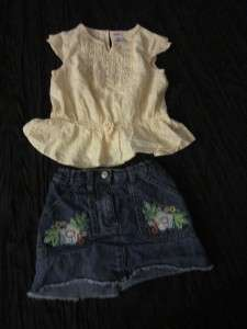 Gymboree shirt short CLOTHES lot baby toddler girls 3 3T SPRING summer