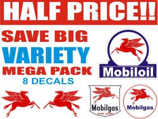Vintage All Mobil Gas Oil Pegasus Mega Pack Half Price