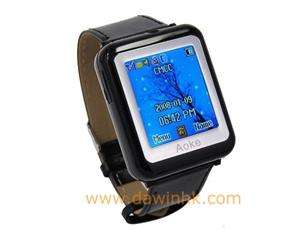 AK09 Triband Wrist Watch Cell Phone Mobile With Camera Bluetooth