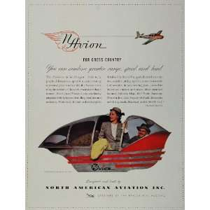 1946 Ad Navion Personal Plane North American Aviation
