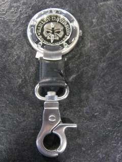 Harley Davidson Skull Pocket Watch