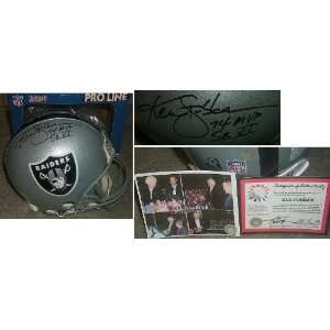 Ken Stabler Signed Raiders ProLine Helmet Inscribed