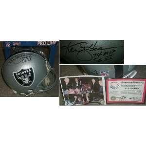 Ken Stabler Signed Raiders ProLine Helmet Inscribed