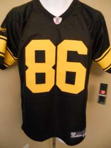 NEW IRREGULAR HINES WARD Pittsburgh STEELERS YOUTH XLarge XL SEWN