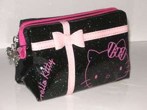 NEW HELLO KITTY COSMETIC HAND BAG MAKE UP CASE HH 687B