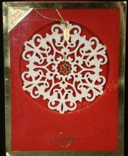 Lenox China 1999 SNOWFLAKE Snow Fantasies Holiday Christmas Tree