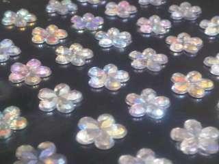 Self Adhesive DIAMANTE Stick on Rhinestone Gems 4 Card Craft, Vajazzle