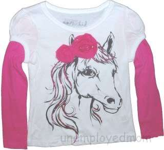 GRAPHIC TOP T SHIRT GIRLS LONG SLEEVES NWT BTS LAYERED |