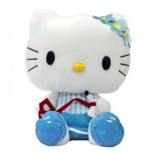 13 Sanrio Hello Kitty Marine Plush Doll Toy With Blue