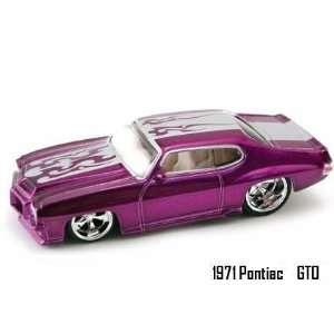 City Big Time Muscle Purple 1971 Pontiac GTO 164 Scale Die Cast Car