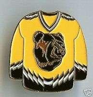 Boston Bruins NHL Hockey Jersey Sports Pin