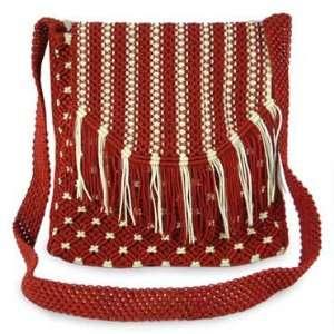 Nylon shoulder bag, Morning Sunrise