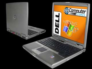 Dell+Windows XP Latitude D610 Notebook Laptop Computer with 30 GB HDD