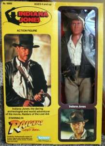 JONES 12 ACTION FIGURE DOLL KENNER 1981 HARRISON FORD NIB