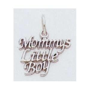 14kt Mommys Little Boy Charm   D1090 Jewelry