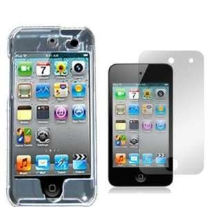 Clear Crystal Transparent Snap On Hard Skin Case Cover