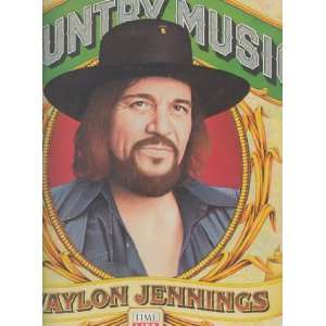 country music (TIME LIFE 102  LP vinyl record): WAYLON JENNINGS: Music